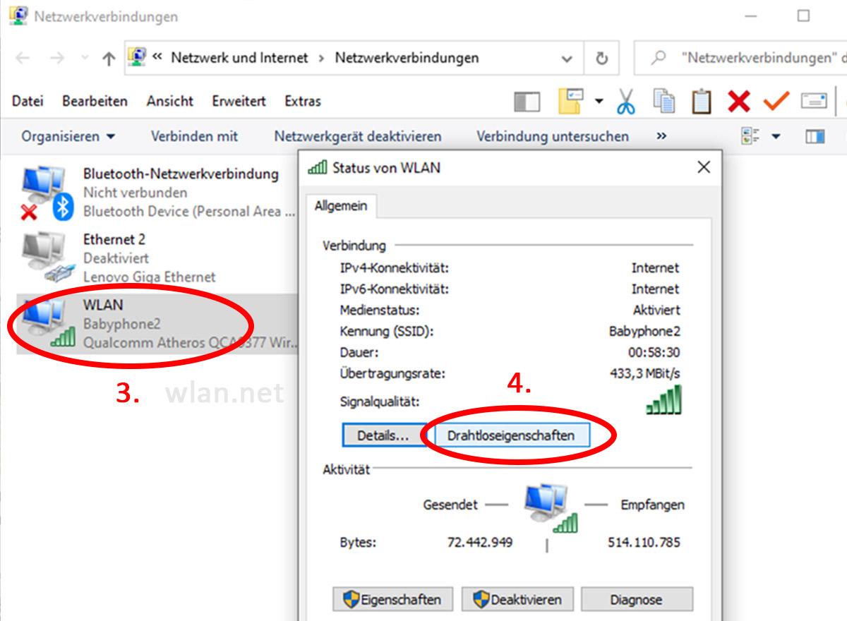 Windows-10-Netzwerkverbindungen-anzeigen-Drahtloseigenschaften