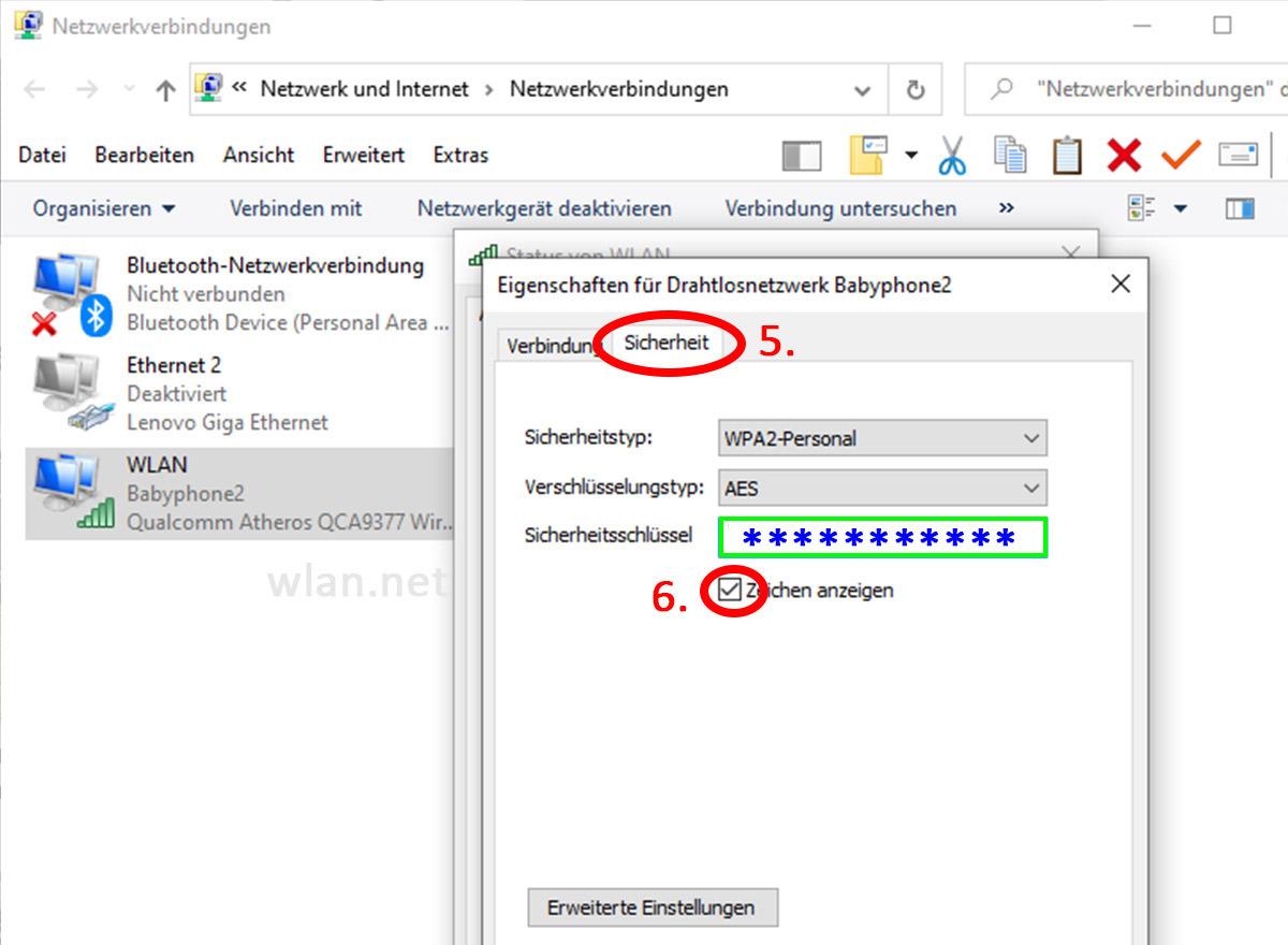 Windows-10-Passwort-anzeigen