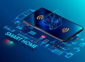 intelligentes vernetzes Haus